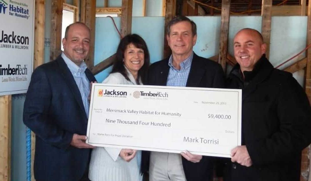 Jackson Lumber & Millwork Partners With TimberTech for Charitable Program